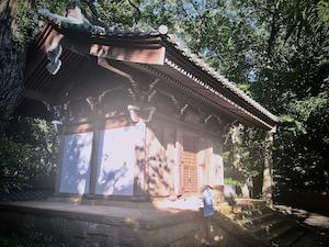 The Kaizan hall of Jindaiji temple