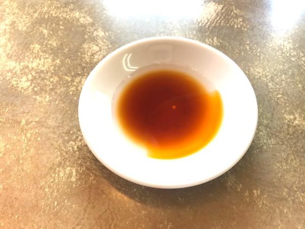 Gyoza condiments
